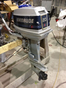 Used 1986 Evinrude 20 hp outboard
