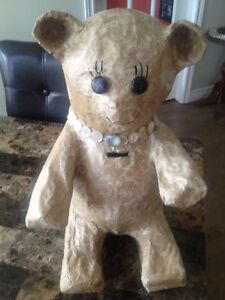Decoupage Teddy Bank