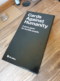 Cards Against Humanity. Excellent condition £5