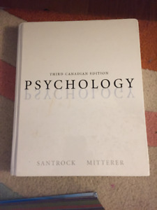 Psychology Textbook for sale.