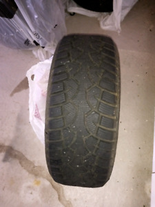 Set of four winter tires 205/50/17