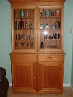1880's Buffet and Hutch Cabinets