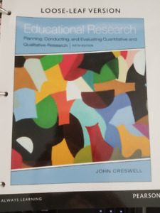 Educational Research 5th Edition Creswell