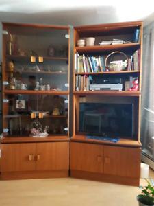 Teak Wall Unit | Buy and Sell Furniture in Edmonton Area | Kijiji ...