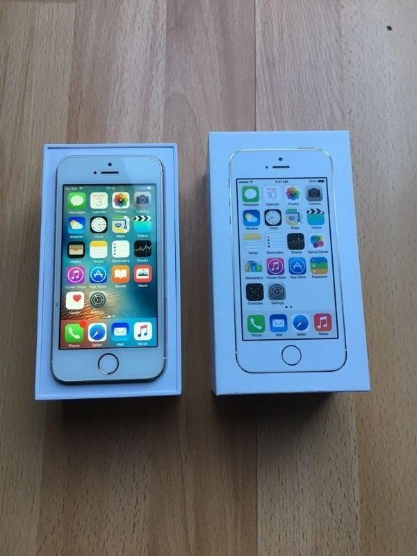 """Apple iPhone 5s """"LOOKS BRAND NEW"""" 1OWNER No Marks EE/TMOB/ORANGE/VIRGIN/BT MINT Condition 100salesin North London, LondonGumtree - Apple iPhone 5s 16GB MEMORY WHITE/GOLD Immaculate Condition NO DIRT MARKS PERFECT!! NO MARKS ON PHONE PERFECT!! NO DROP MARKS ON EDGES PERFECT!! NOBODY WANTS TO BUY A PHONE THAT DOESNT LOOK THE PART SO DONT WORRY THIS ONE IS IN GRADE A Condition..."""