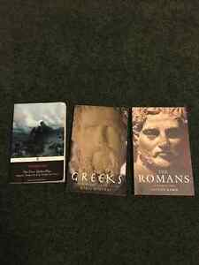 Greek History, Roman History and 3 Theban Plays-soft cover books