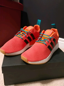 NMD R2 orange summer brand new sz10