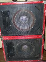 Pair of 4812R TRAYNOR Stage Monitors