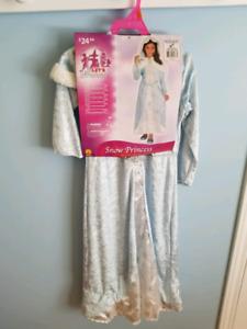 Costume princesse des neiges