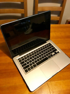 Mid 2012 MacBook Pro  (Intel Core i5 2.50GhZ)(4 GB RAM)