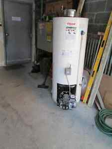 réservoir à l'eau chaude a l'huile