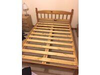 Julian Bowen double pine bed frame