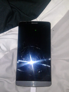 LG G3 32G Best Offer Great Phone Cracked Screen