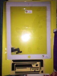 iPad 2 replacement screen with digitizer and tools