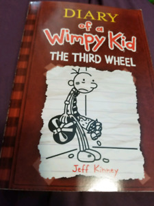 Diary of a Wimpy Kid: The Third Wheel book