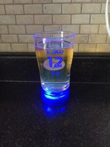 Collectable Blue Jays Home Run Synced Glass
