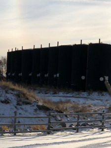 1000 bbl Crude Oil Tanks for Sale