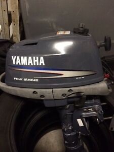 Yamaha outboard motor 4 hp - 2011