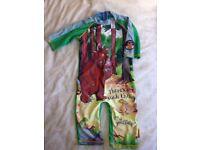 Child's swim suit - The Gruffalo age 3-4yrs age