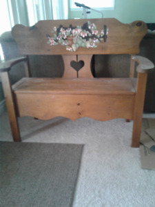 Child's Bench For Sale