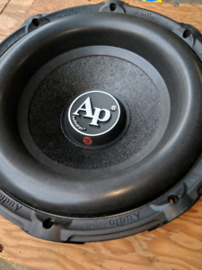 """Subs and Amp. 8"""" 12"""" 6.5""""   New and Box"""