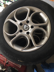 Nokian All Season Tires mounted on American Racing Rims For Sale