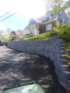 Retaining Walls Paverstone Driveways And Patios Custom Stonework