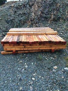Lumber 4 x 4 x 8 posts