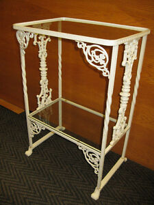 Cast Iron Table -- FROM PAST TIMES Antiques  - 1178 Albert St
