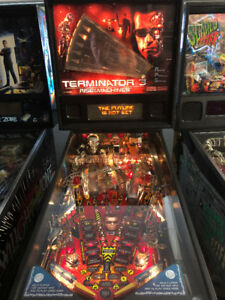 2003 Stern Terminator 3 Rise of the Machines pinball machine