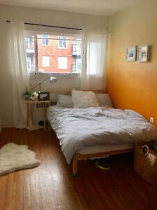 1 bedroom summer sublet (May1-Sept1) in a cozy 2 bedroom