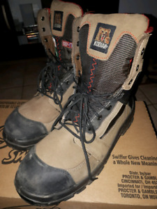 Like new kodiak steel toe boots.