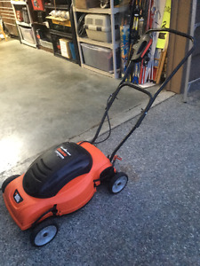 Black and Dercker Electric Lawnmower