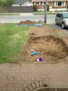 FREE Fill Dirt from driveway expansion