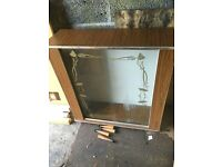 VINTAGE RETRO CHINA CABINET ** FREE DROP OFF FRIDAY NIGHT **