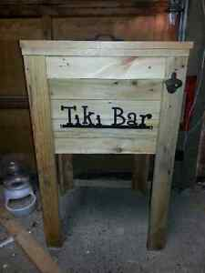 Spring is Coming  Rustic Wooden Coolers