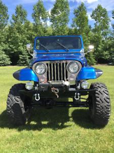1988 Jeep Wrangler YJ Custom Build
