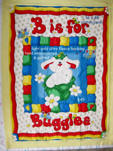 Baby Quilts, Bibs and Burping Pads for Sale