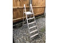 Good pair of wooden steps £ 10 quite sturdy £ 10