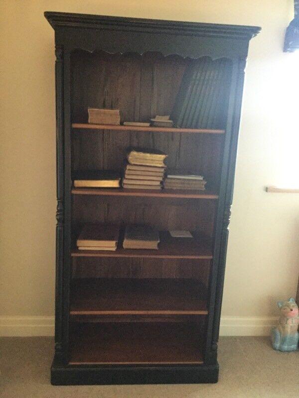 Ancient mariner solid wood bookshelf