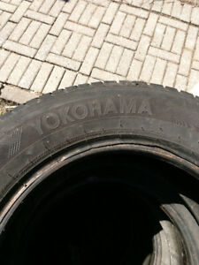 4 all season Yokohama tires P215 60R15