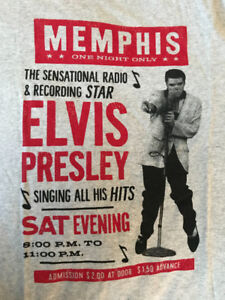AEROPOSTALE VINTAGE STYLE ELVIS PRESLEY T-SHIRTS NEW WITH TAGS