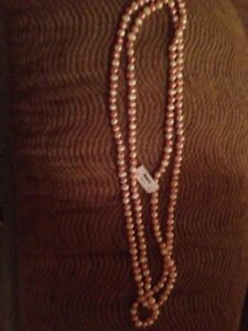 "60"" Fresh Water Pearl Necklace New Reduced"