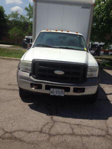 Ford Truck cube van F550 for sale with clean car proof report