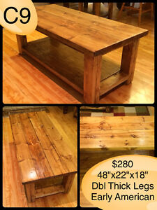 CUSTOM BUILT COFFEE TABLES, YOUR CHOICE OF STAIN Kingston Kingston Area image 3