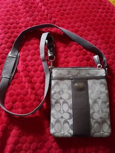 Coach cross body/ purse