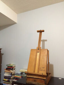 Vintage French grumbacher easel  London Ontario image 2