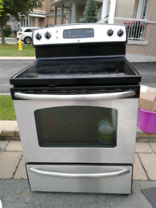 General electric stainless steel oven