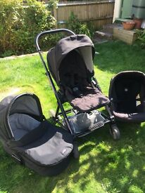 Mama and Papas Urbo Pram Travel system with car seat