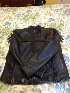 Mans Classic Willie G. Motorcycle Jacket